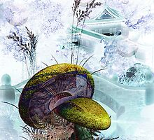 DREAMS IN LAVENDER GREEN by Tammera