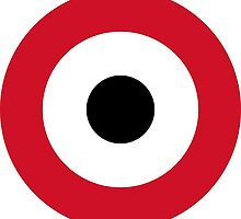 Egyptian Air Force Roundel  by abbeyz71