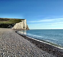 Seven Sisters White Cliffs by Ludwig Wagner