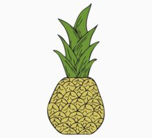 Pop Art Pineapple Kids Clothes