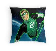 Green Lantern, Hal Jordan! Throw Pillow