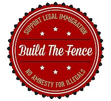 Build The Fence Photographic Print