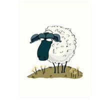 An Indifferent Sheep Art Print
