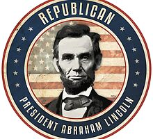 Republican President Abraham Lincoln by morningdance