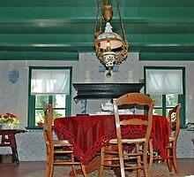 Traditional Frisian living room by Arie Koene