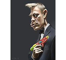 Daniel Craig Photographic Print