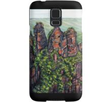Etched in Time, Blue Mountains Samsung Galaxy Case/Skin