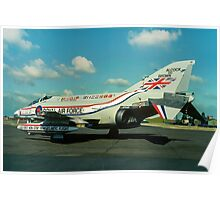 """Alcock & Brown"" F-4M Phantom FGR.2 XV486 Poster"