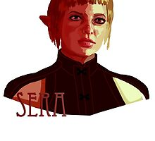 Sera: Red by miss0aer