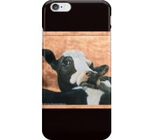 Pensive Cow iPhone Case/Skin