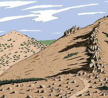 Jobs Sister and Unnamed Peak by Jared Manninen