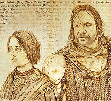 The Wolf & The Hound - Arya's List by pyromancer