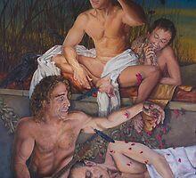 Dream Weaver acrylic on canvas  by Thomas Acevedo