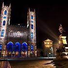Notre-Dame Basilica 2 by Michael Vesia