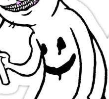 Creepy Cat Sticker