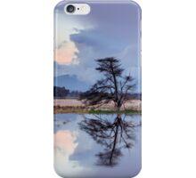 Yarra Glen flats flooding sunset iPhone Case/Skin