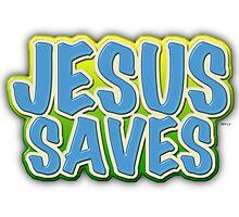 Jesus Saves by morningdance