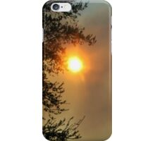Sun and Fire in the Everglades iPhone Case/Skin