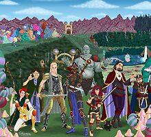 Zulana's Adventure Party by KevennTSmith