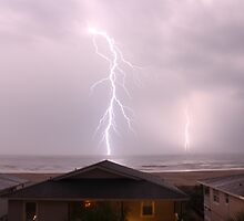Double Lightning Strikes by Rick McEntee