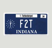 License Plate - F2T by TswizzleEG