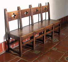 """ Spanish Style Bench ""   by waddleudo"