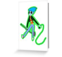 Cobra in the House Greeting Card