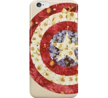Captain America - Floral Shield iPhone Case/Skin