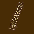 My name is Heisenberg - Graffiti Breaking Bad - iphone by ptelling