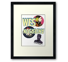 The Wes Anderson Framed Print