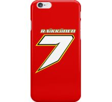 Kimi RAIKKONEN_#7_2014_Helmet iPhone Case/Skin