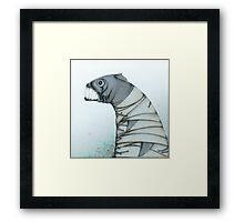 Straitjacket Fish Framed Print