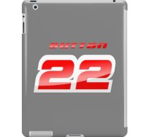 Jenson BUTTON_2014_#22_Helmet iPad Case/Skin