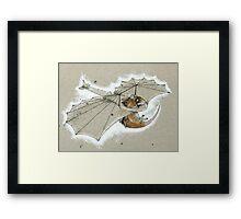 Ratglider Framed Print