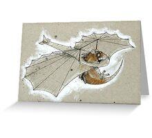 Ratglider Greeting Card