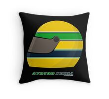 Ayrton Senna FOREVER… on my pillow... Throw Pillow