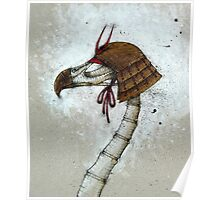 Samurai Bird Poster