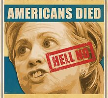 Hell No Hillary by morningdance
