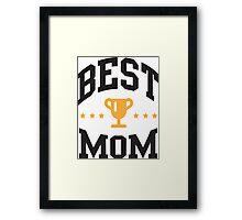 Best mom Framed Print