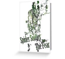 Spider Soldier - The Fear Greeting Card
