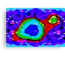 Quantum Subliminal Canvas Print