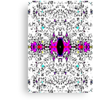 Colorful Distortion Canvas Print