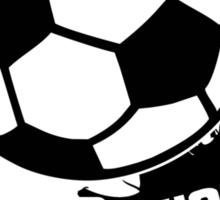 Live, Love, Kick it - Soccer Sticker