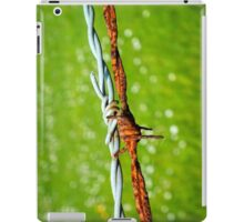 Still Life with Barbed Wire iPad Case/Skin