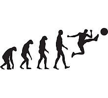 Evolution Football / Soccer Photographic Print