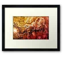 I am Ironman Framed Print
