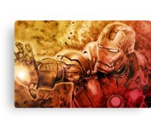 I am Ironman Canvas Print