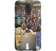 Saiyans vs Marvel's Heroes Samsung Galaxy Case/Skin