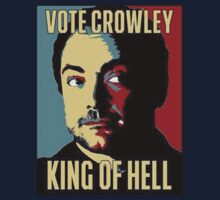 Vote Crowley - KING OF HELL Kids Clothes