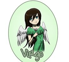 Anime Virgo by OddworldArt